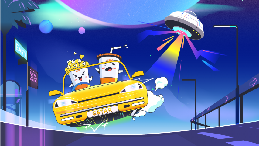 Galaxy – Finding popcorn