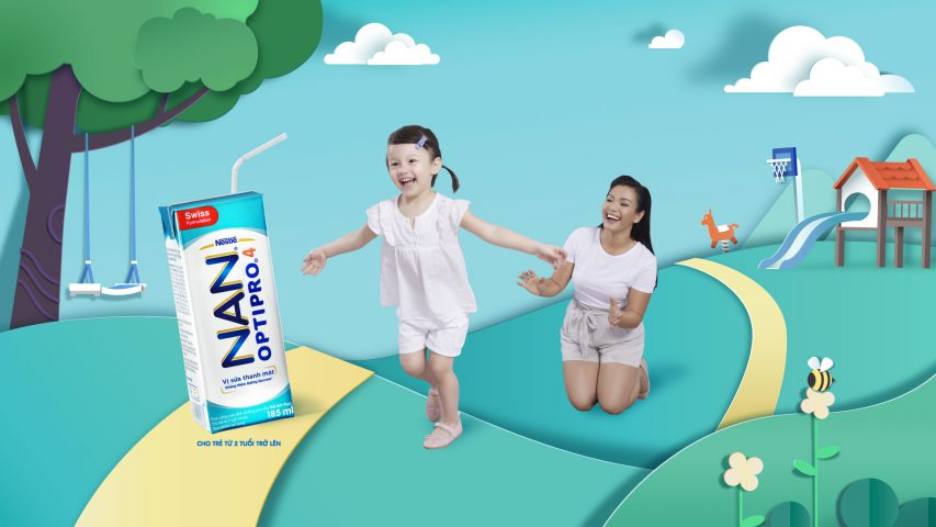 NAN Nestle – Summer & Back to school