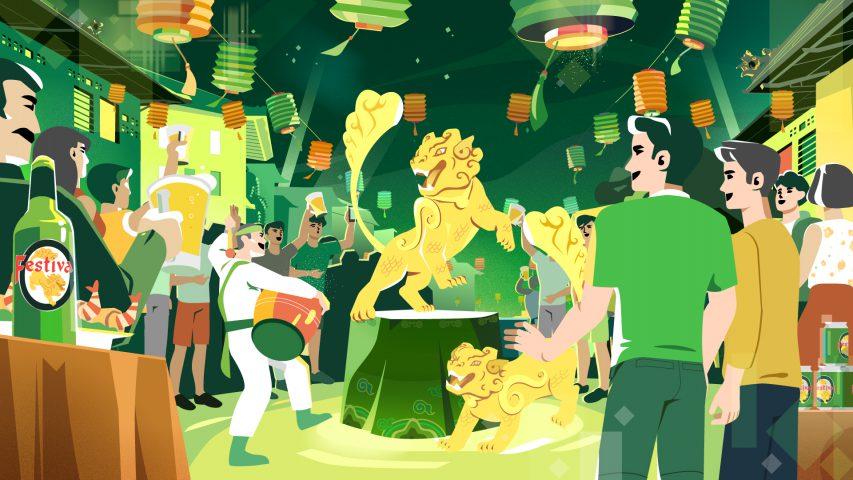 Huda – Khui Festival, tưng bừng lễ hội